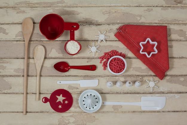 Instrumentos de cocina con motivo navide o descargar for Instrumentos de cocina