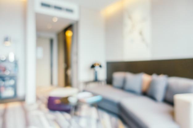 Interior borroso abstracto de la sala de estar Foto gratis