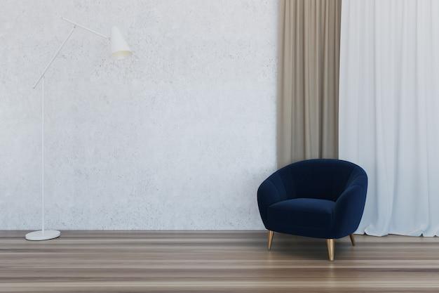 Interior de la habitación vacía Foto Premium