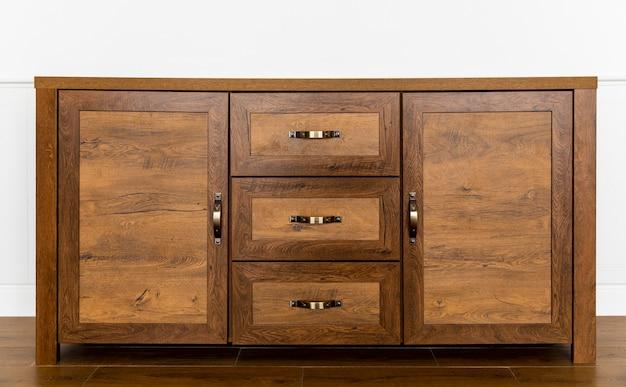 Interior de mueble de madera Foto gratis