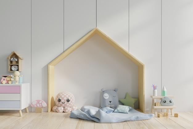 Interior de la sala de juegos infantil. Foto Premium