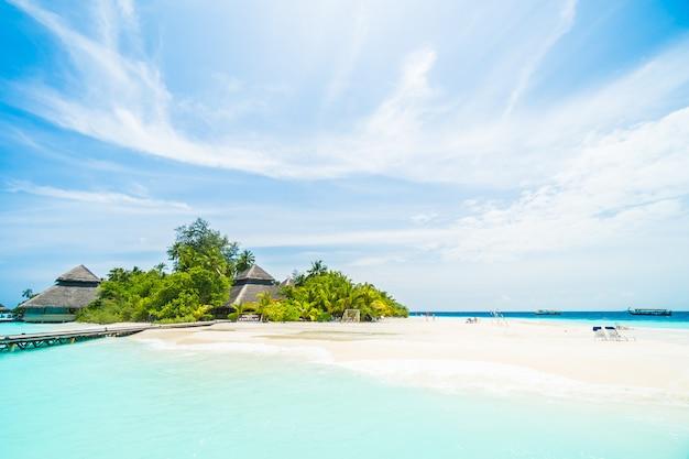 Isla de maldivas Foto gratis