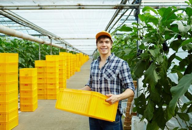 Jardinería de mercado Foto gratis