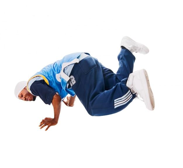 Jóvenes hiphop bailarina en blanco   Descargar Fotos gratis