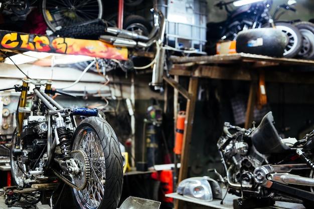 Juego De Motocicletas Para Afinar En La Tienda De Personalizacion