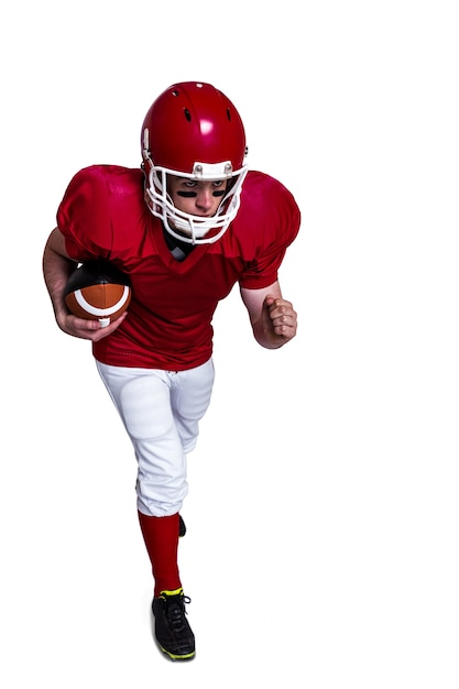 c140033e93 Jugador de fútbol americano corriendo con la pelota