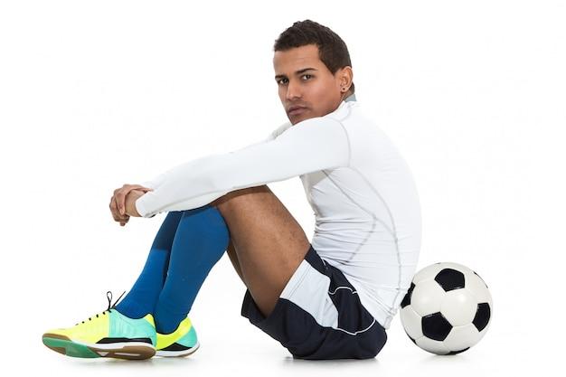 Jugador de fútbol Foto gratis