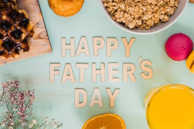 Comida dia del padre