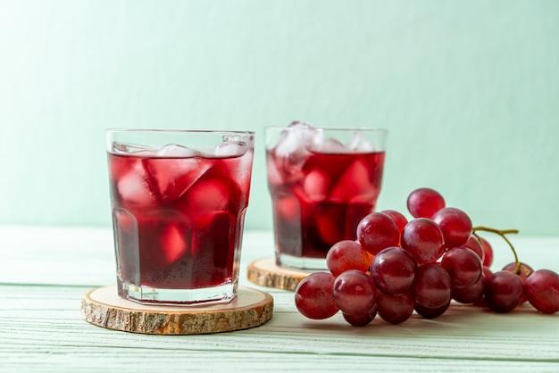 Jugo de uva fresco Foto Premium