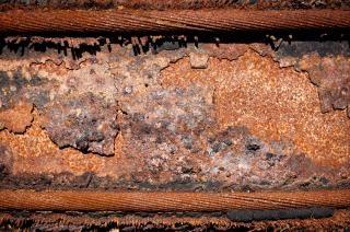 la construcción de la textura de metal oxidado Foto Gratis
