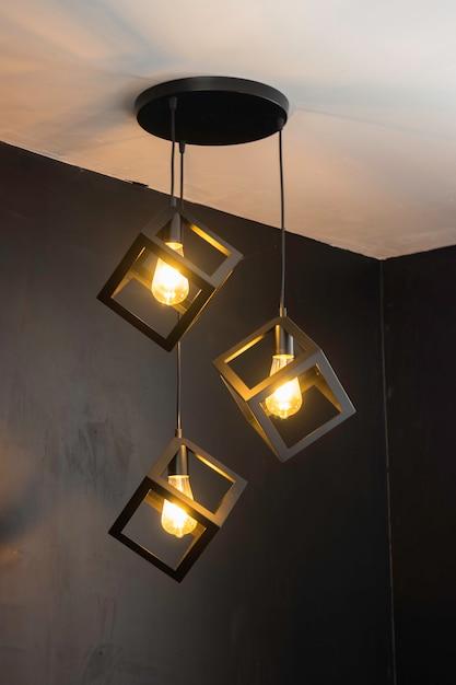 Lampara interiorFoto retro Premium de de techo vintage CtQhrsd