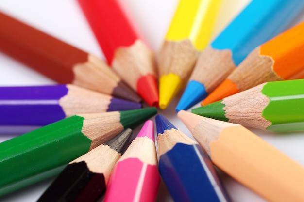 Lápices de colores Foto gratis
