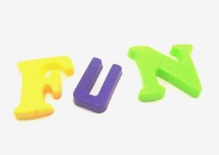 letras de plástico - diversión Foto Gratis