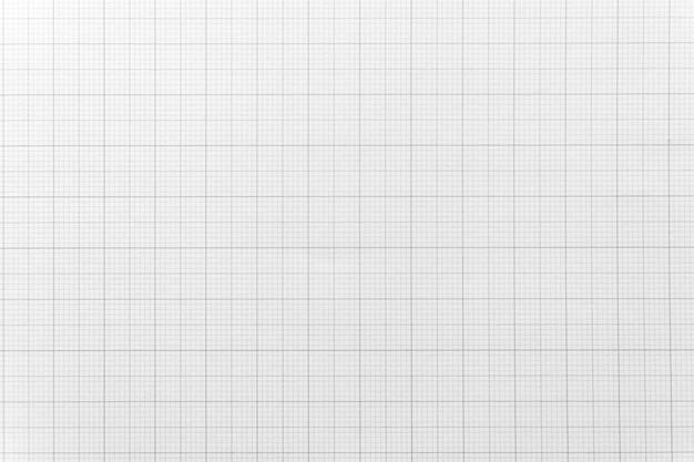 Libro blanco con patrón de línea de cuadrícula para el fondo. de cerca. Foto Premium