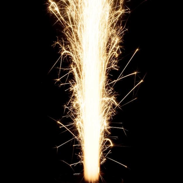 Llama de fuego artificial Foto Gratis