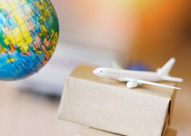 Logística transporte importación exportación envío servicio clientes ordenar cosas Foto Premium