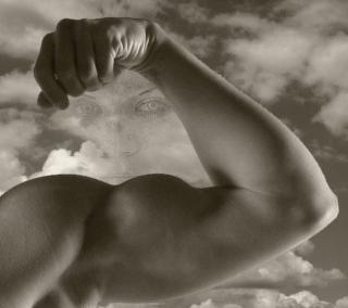 los músculos, la cara Foto Gratis