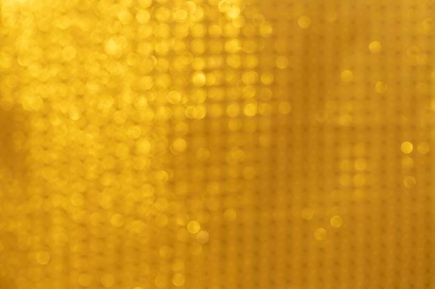 Luces abstractas de oro fondo bokeh oro Foto Premium