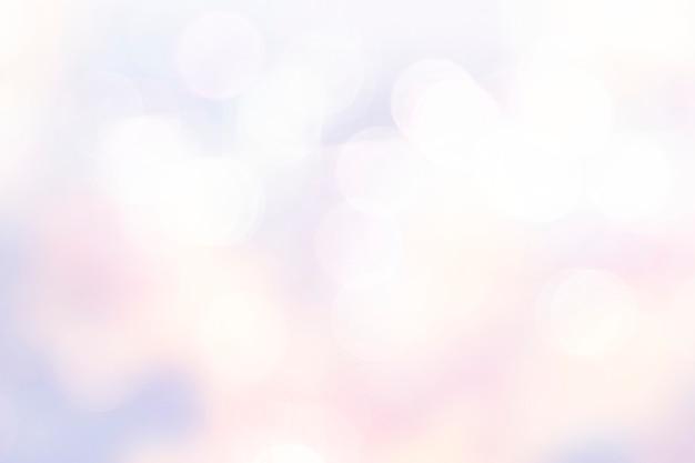 Luces bokeh rosa pastel Foto gratis