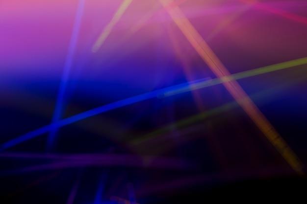 Luces láser de neón colorido resumen de antecedentes Foto Premium