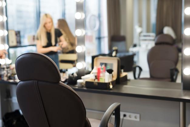 Lugar de trabajo peluquería Foto gratis