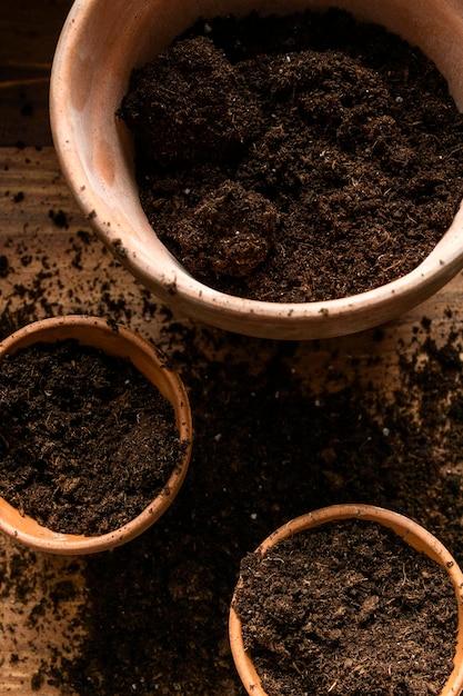 Maceta de jardinería casera Foto gratis