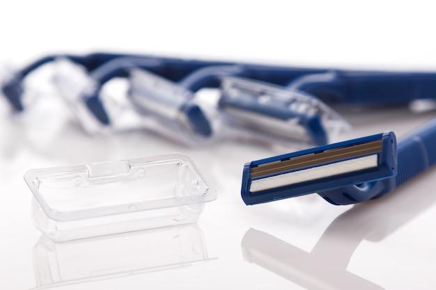 Maquinillas de afeitar Foto Premium