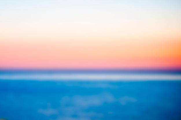 Mar borroso Foto gratis