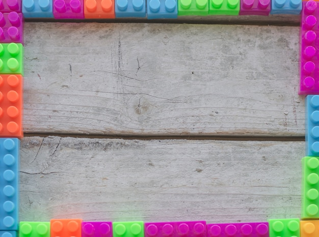 Marco colorido de ladrillos de colores descargar fotos - Ladrillos de colores ...