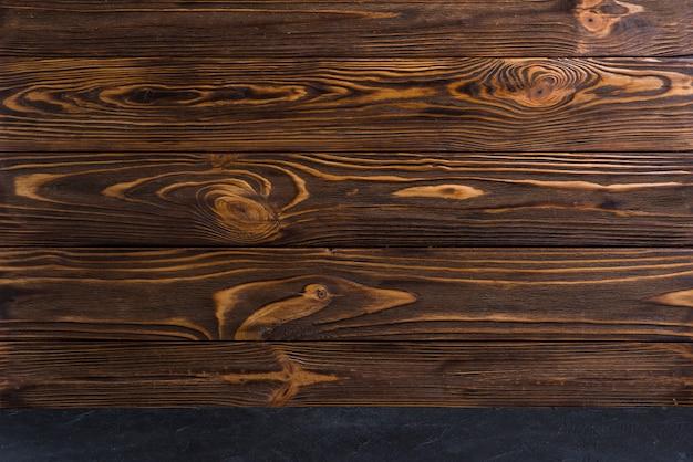 Marco completo de madera con textura de fondo Foto gratis