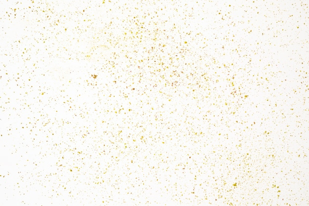 Marco completo de salpicaduras de polvo sobre fondo blanco Foto gratis