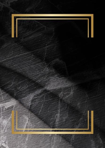 Marco de telón de fondo con textura de mármol Foto gratis