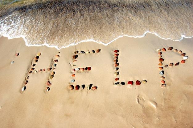 Mensajes De Amor Escritos En La Arena: Descargar Fotos Gratis