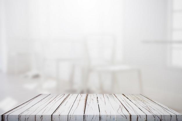 Mesa con fondo Foto Gratis