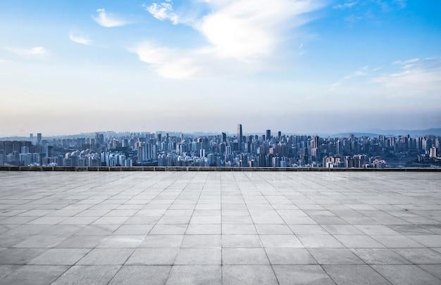 Metrópolis moderna horizonte, chongqing, china, chongqing panorama. Foto gratis