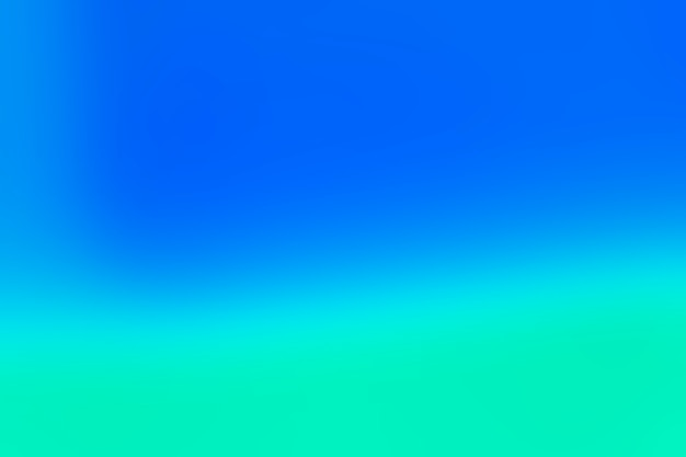 Mezcla suave de colores azules Foto Premium