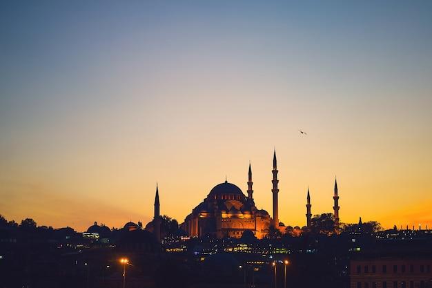 Mezquita azul en estambul Foto gratis