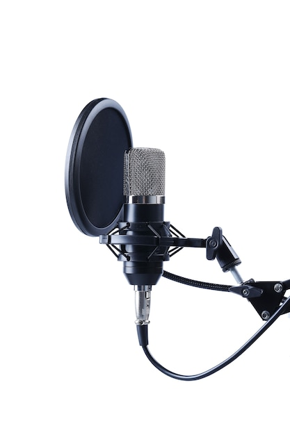 Micrófono moderno Foto gratis