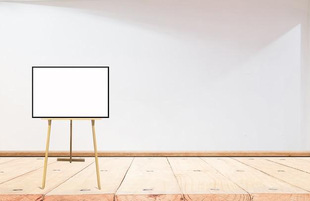 Mock up, pared brillante vacía, cartel Foto Premium