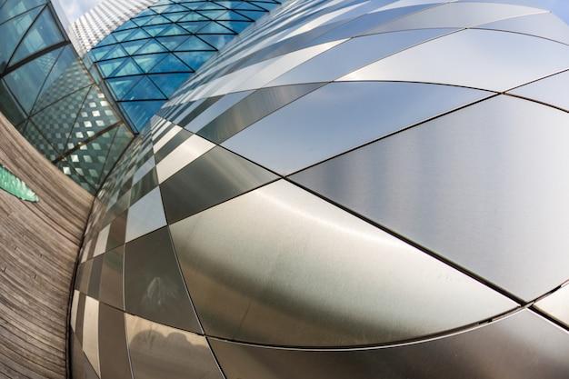 Modernos rascacielos en vilnius, lituania Foto Premium
