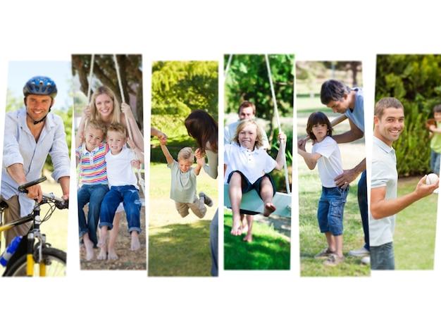 Resultado de imagen para niños divirtiendose con padres