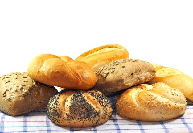 Montaña de pan Foto gratis