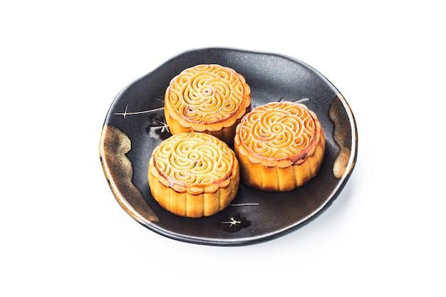 Mooncake, comida china del festival del medio otoño. Foto gratis