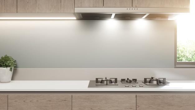 Cocinas Blancas Modernas Con Detalles En Madera Cocinas