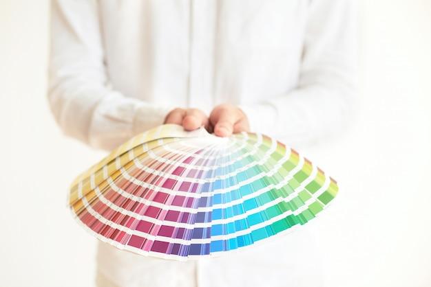Muestras de color Foto gratis