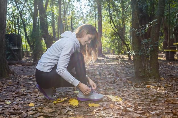Deporte Mujer Zapatillas Activa Los Cordones Atándose De sQrthd
