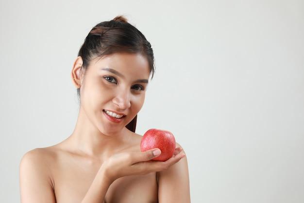 Mujer fitness Foto Premium