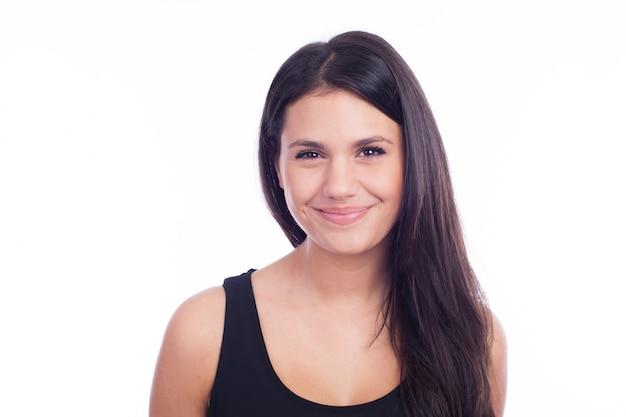 Mujer hermosa natural Foto Premium