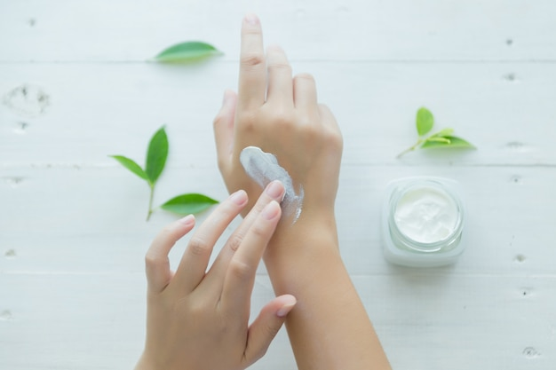 Exfoliación de manos