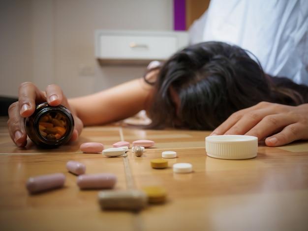 Sobredosis de pastillas para adelgazar
